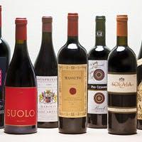 テロワールを感じさせるワインを厳選、お食事を彩る豊富なラインナップ