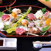 春夏秋冬の名の通り、四季折々の食材を極上の串揚げに昇華