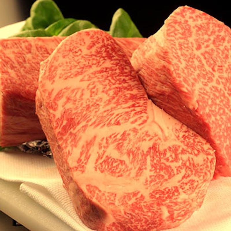【料理長コース】接待・会食に!特上黒毛和牛・シャトーブリアンなど
