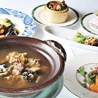 食養生の考えを取り入れた体に優しい中華の精進コース