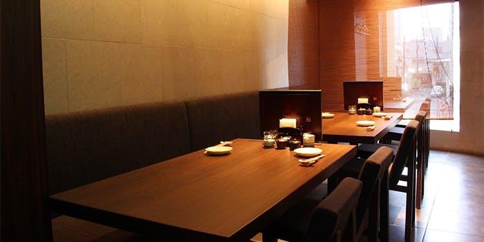 記念日におすすめのレストラン・銀座 あまくさ 青山外苑の写真1