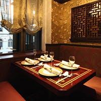 モダンチャイニーズの洗練された上質空間 完全個室は接待やパーティーに最適