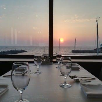 相模湾を眺めながら、思い出のひと時を