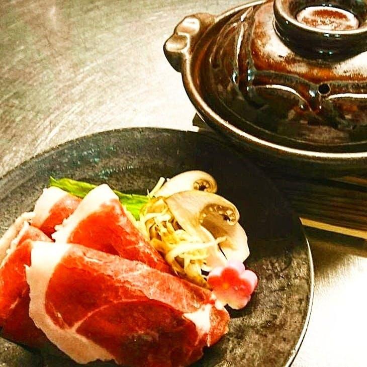 「花柳名物牡丹鍋」京都丹波笹山の天然牡丹のみ使用