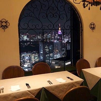 都庁前駅徒歩2分 新宿住友ビル52階の星空に限りなく近いレストラン