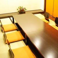 お顔合わせやビジネスのご接待に相応しい完全個室