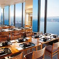 ホテル36階から四季折々の表情をみせる琵琶湖の眺めを
