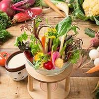 鎌倉の彩り豊かな野菜料理