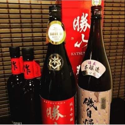 お料理と一緒にお楽しみいただける日本酒や各地の地酒を多数ご用意