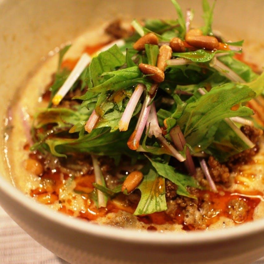 日本の四季を中国料理で表現