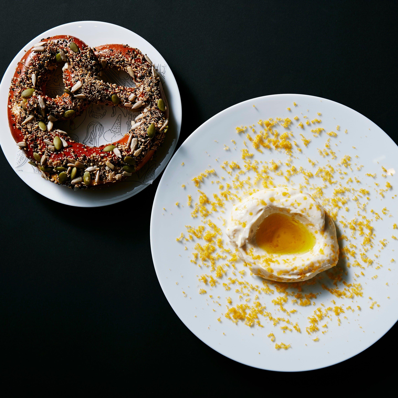 これは食べてほしい「ボッタルガクリームプレッツェル」