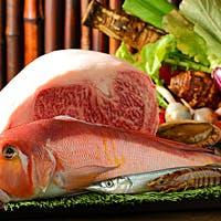 「島生まれ、島育ち、隠岐牛」と、四季の食材をあしらった日本料理の融合