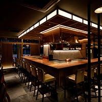 ご接待には上質な個室で…目の前がオープンキッチンのカウンター席も魅力
