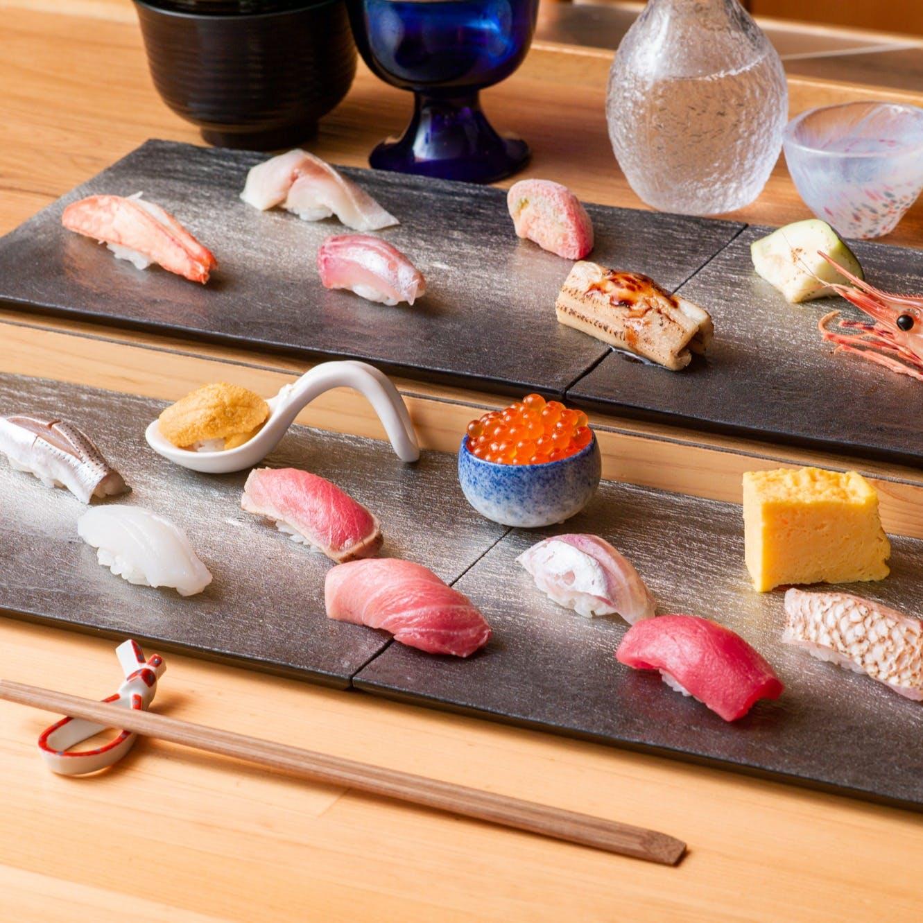 青山で本格寿司をお気軽に
