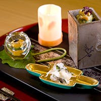 旬の素材に彩られた日本料理