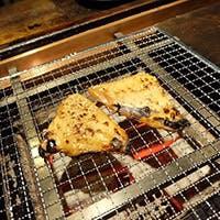 鮮度抜群の食材を使用した囲炉裏焼が楽しめる