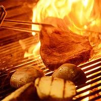 """都内では希少な""""石垣牛""""など、新鮮素材を活かした本格炭火グリル&ステーキ"""