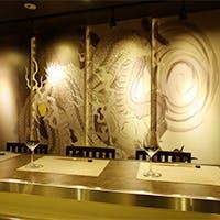 和の店内は落ち着きと安らぎを与える空間、ゆっくりとした時間をお楽しみください