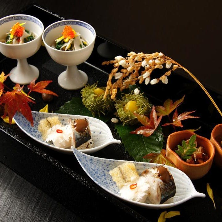 四季を味わう自慢の料理。素材の旨みを愉しんで