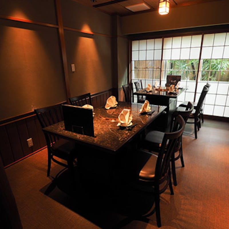 【ランチコース】トロカルビ・イチボ・厳選ハラミの焼肉や前菜など全4品