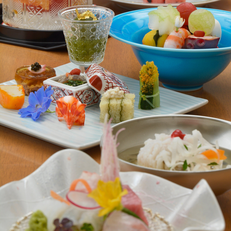 日本古来より受け継がれてきた純和食に伝統ある栗吉の料理