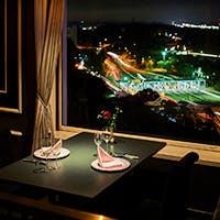 ホテル最上階のフレンチレストラン「ダイニング ザ・トップ」