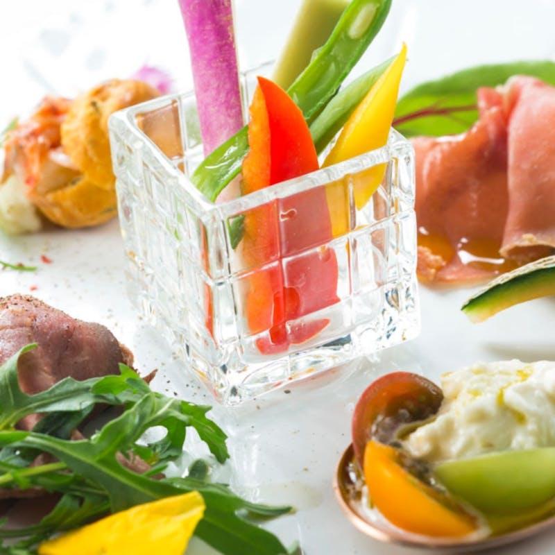 【スタンダードプラン】IL PRINCIPEランチコース+乾杯酒+幸せのミモザケーキ(記念日ランチ)