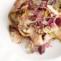 趣向を凝らしたイタリア料理とワインのマリアージュ