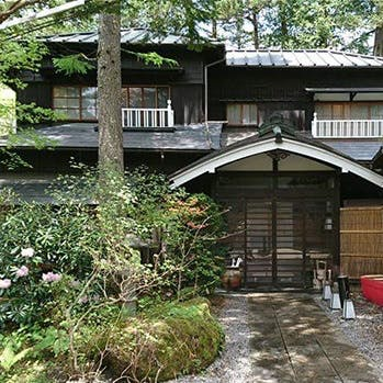爽やかな風薫る軽井沢の老舗