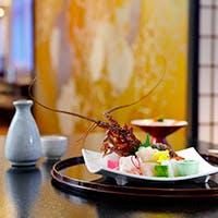 伊勢志摩の季節の海の幸、山の幸を使った会席料理