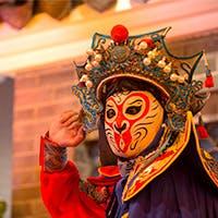 中国伝統のショー「変臉(変面)」