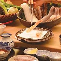 素材の旨味を感じられる、揚げたての天ぷらを心ゆくまで