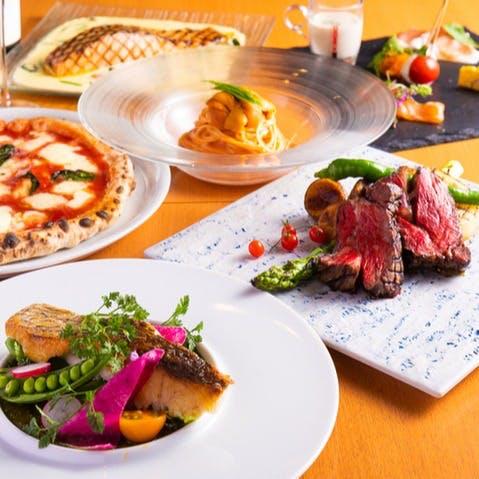 シェフこだわりの本格イタリア料理