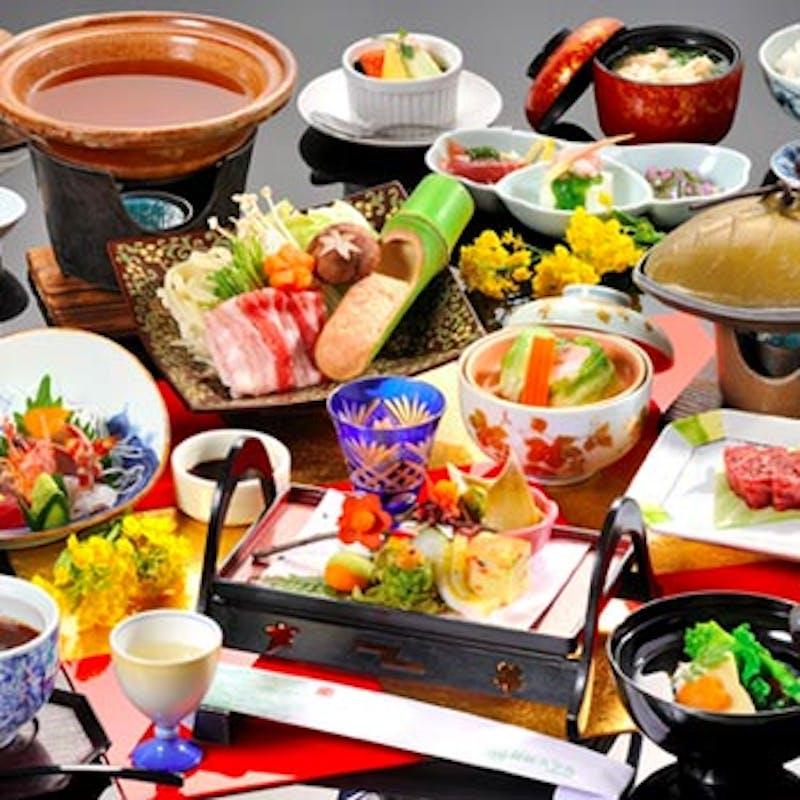 【おまかせコース:松 】前菜3種、造り3種、煮物、焼物、小鍋など全8品+2時間飲み放題