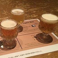 常時4種類のクラフトビールをご用意