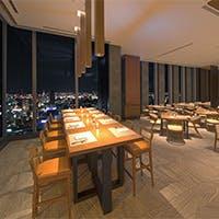 名古屋の摩天楼を望む眺望と地中海料理のブッフェに舌鼓を