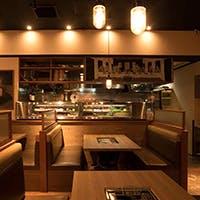 こだわりを持った新鮮な食材空間と落ち着いた空間作り