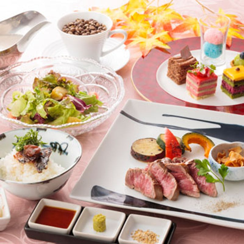 【月替わり欅ランチ】オーストラリア産牛フィレ肉100gなど全5品