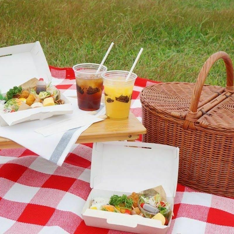 大津港ピクニック&ミシガンクルーズ+湖畔&湖上でのんびり過ごすプラン