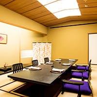 赤坂での接待や慶事・法事に相応しい上質な空間