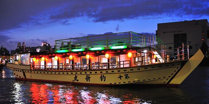 記念日におすすめのレストラン・屋形船 釣新の写真1