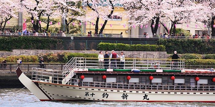 記念日におすすめのレストラン・屋形船 釣新の写真2