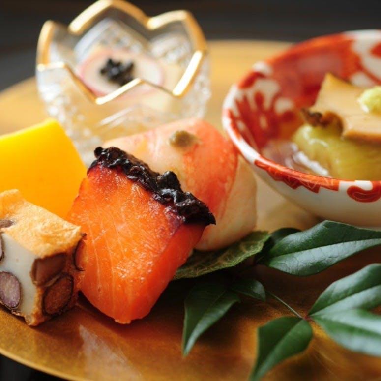 四季を彩る一期一会の日本料理