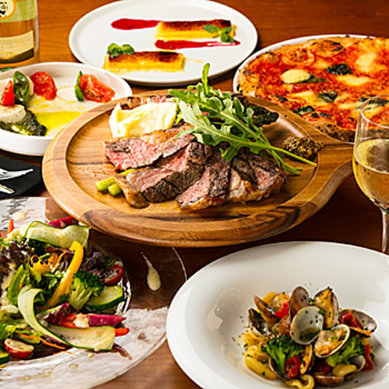 【speciale(スペチャーレ)コース】厳選肉の薪焼き、デザートなど全8品