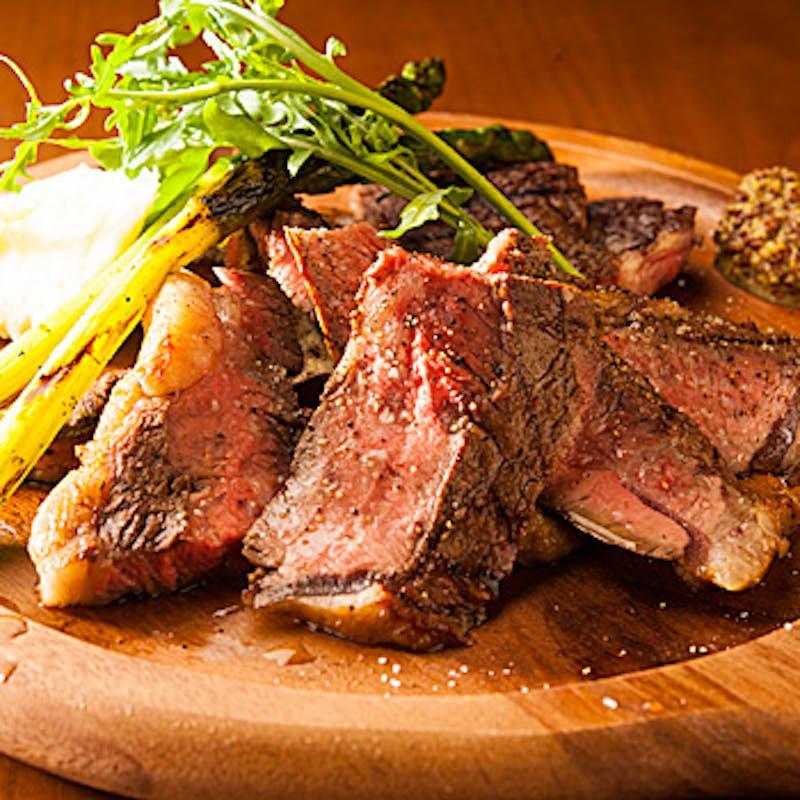 【burning(バーニング)コース】窯焼きピッツァ、牛ハラミ肉など全9品