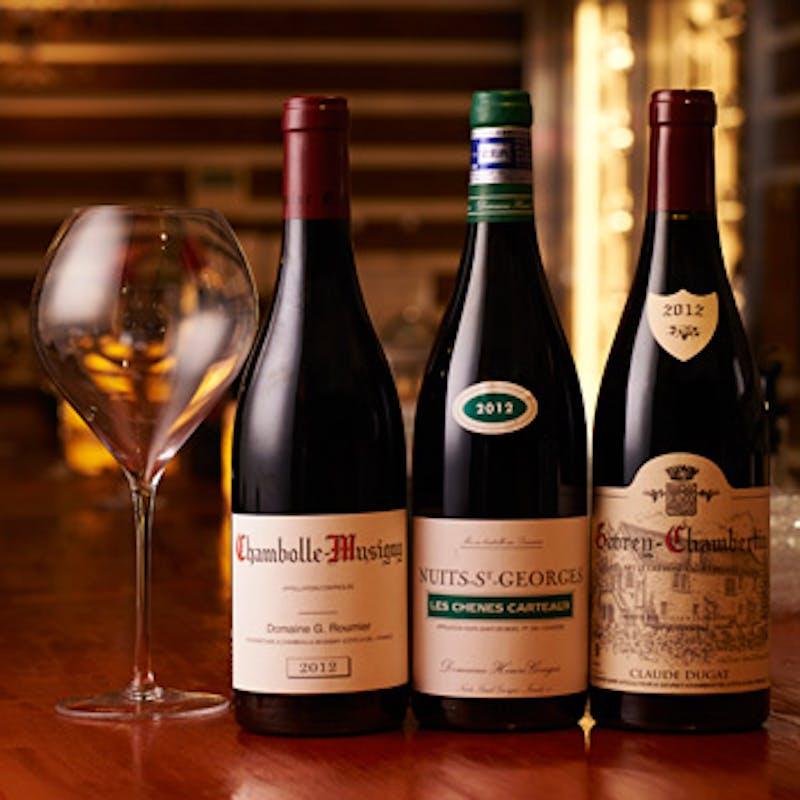【ペアリング】おすすめ料理全4品とワインを合わせたコース