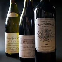 厳選した60種類以上のフランスワイン