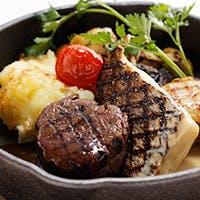 フランス料理がベースのホテルシェフたちによる、素材の良さを活かしたひと皿