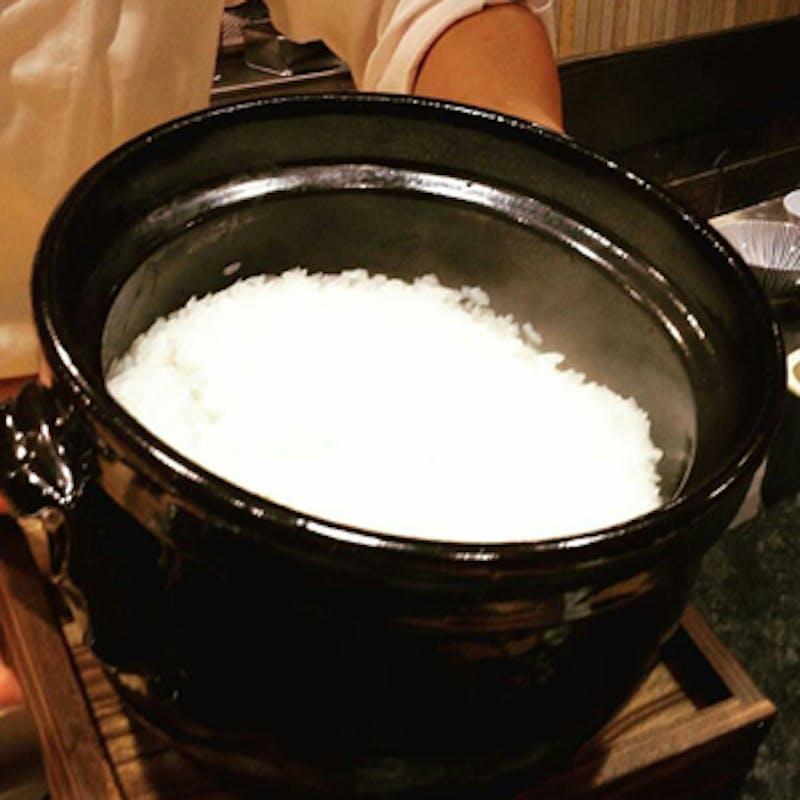 土鍋御飯付き!旬の食材を使ったミニ会席