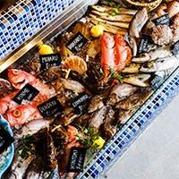 新鮮魚介をふんだんに使用したボリューム満点な豪快イタリアン